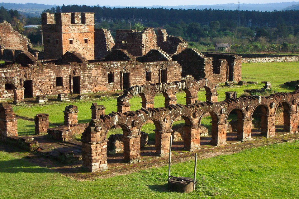 Paraguay mission ruins